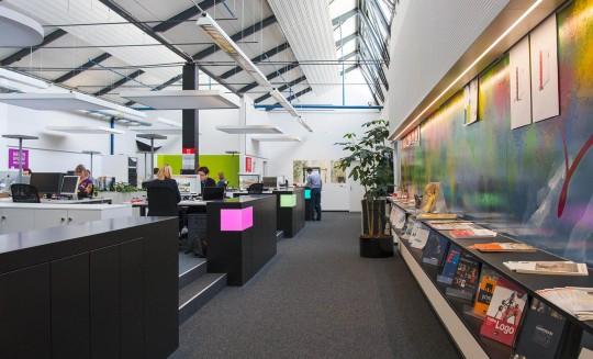 Architektur Agenturraum