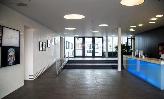 Architektur Empfangsbereich